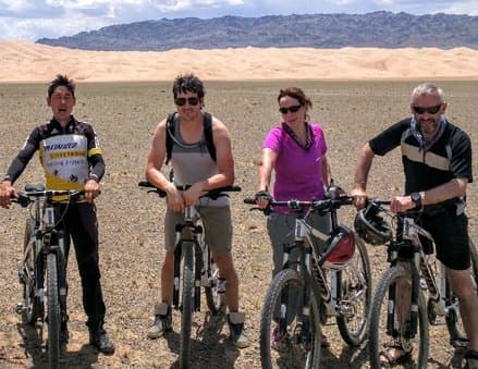 Wüste Gobi Mountain Bike Tour